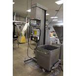 AMFEC Trough Lift & Dump, M# 23K, S/N 000314, W/ Stainless Steel Roll-In Dough Trou   Rig Fee: $450