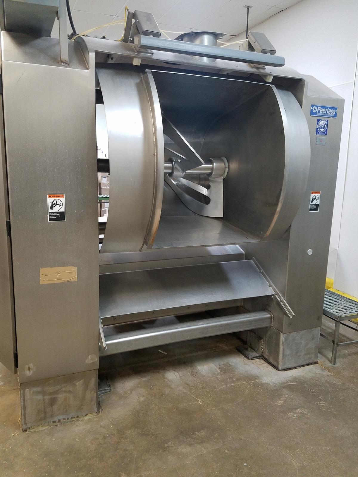 Cookie, Pie, Pastry & Cheese Cake Prodction Plant - Late Model Mixers, Vac Portioning, Pie Lines, Ovens, Depositors, Packaging, Support and More