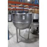 """36"""" X 30"""" Deep Jacketed Kettle, M# FT-100 SP   Rig Fee: $125"""