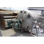Alloy Fab Jacketed, Agitated Pressure Vessel, S/N 2526, W/ Lightnin Agitator