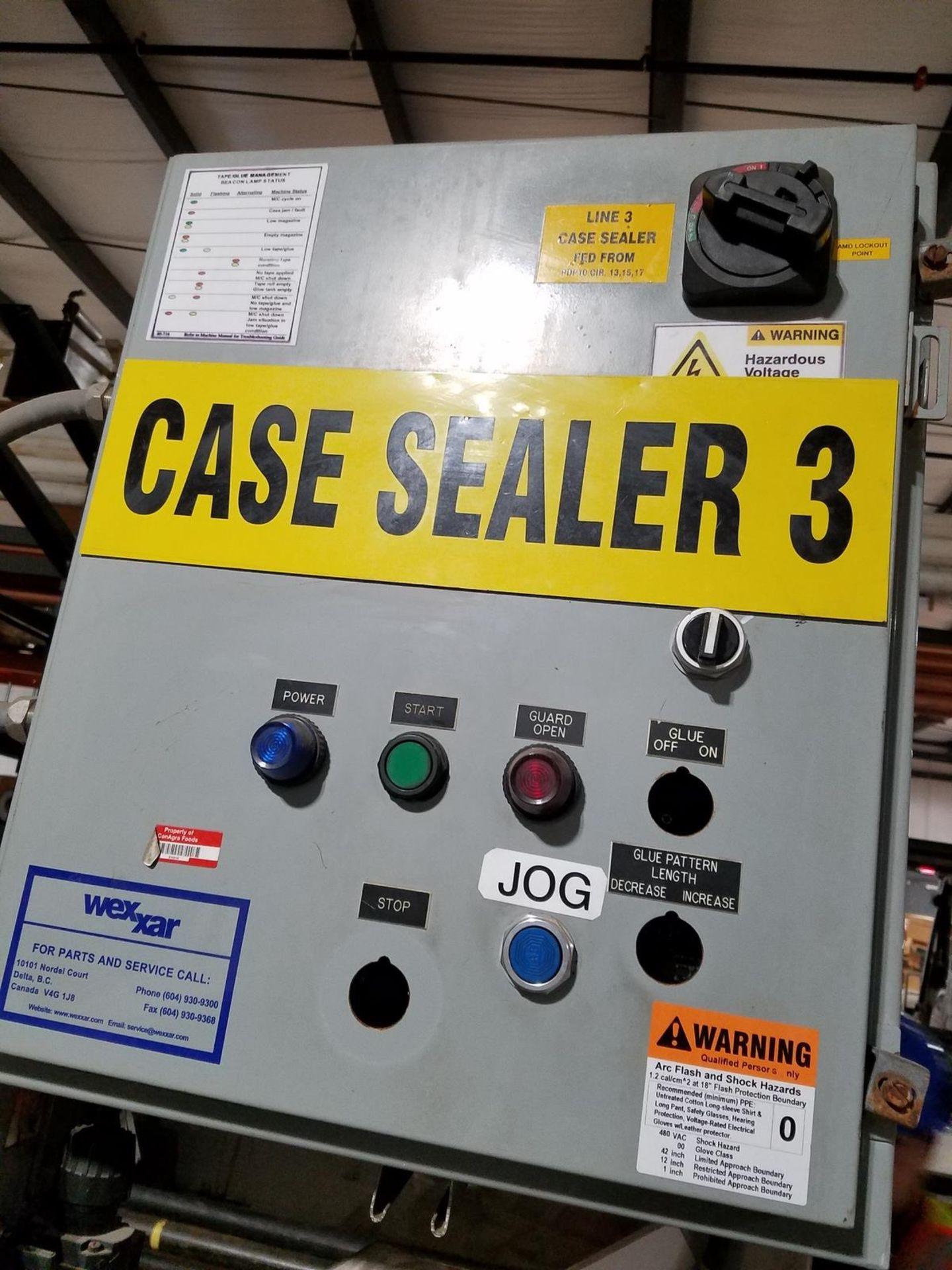 Lot 2X - Wexxar Case Sealer, M# WSH-77, S/N 3199