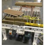 Infeed Roller Conveyor, Motor Driven
