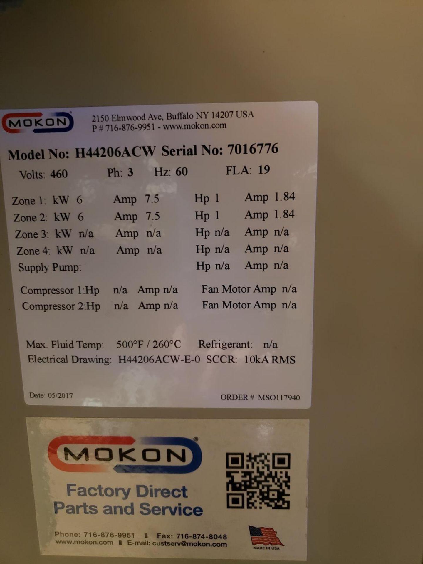 Lot 3A - Mokon 4 Zone Chiller, M# H44206ACW, S/N 7016776