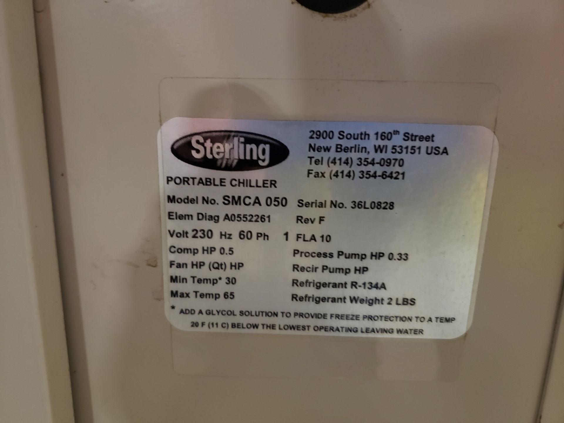 Lot 2B - Sterling Water Chiller, M# SMCA 050, S/N 36L0828