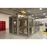 2009 Top Tier Robotic Palletizer, M# 460VRTS10/SW/RI/3SP,PDC/CP, S/N 091030-L, W/ Fanuc System R-30I