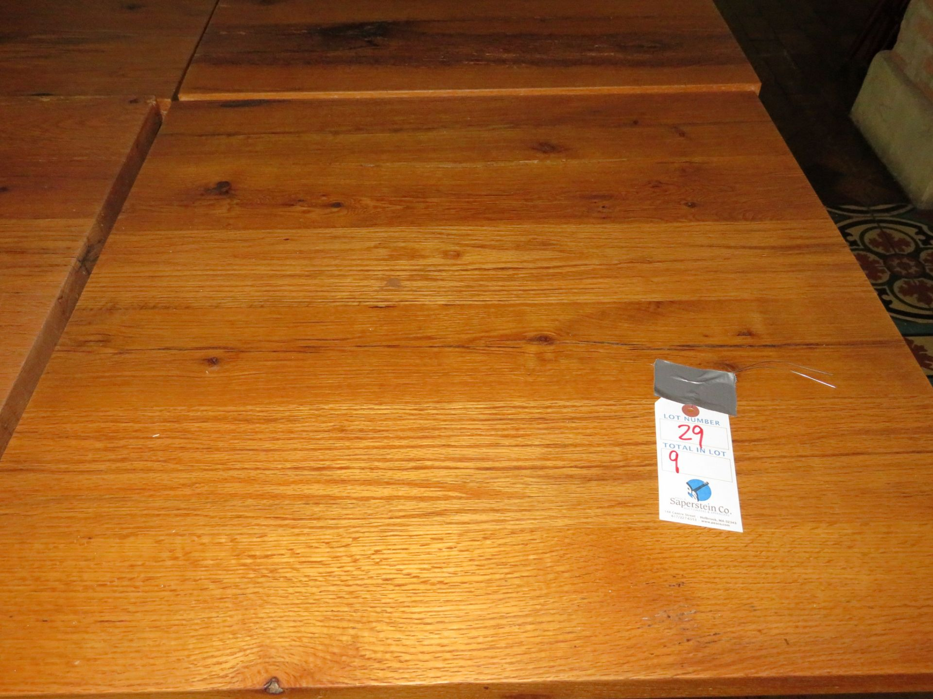 """Lot 29 - (9) Approx. 30"""" X 30"""" Wood Top Tables"""