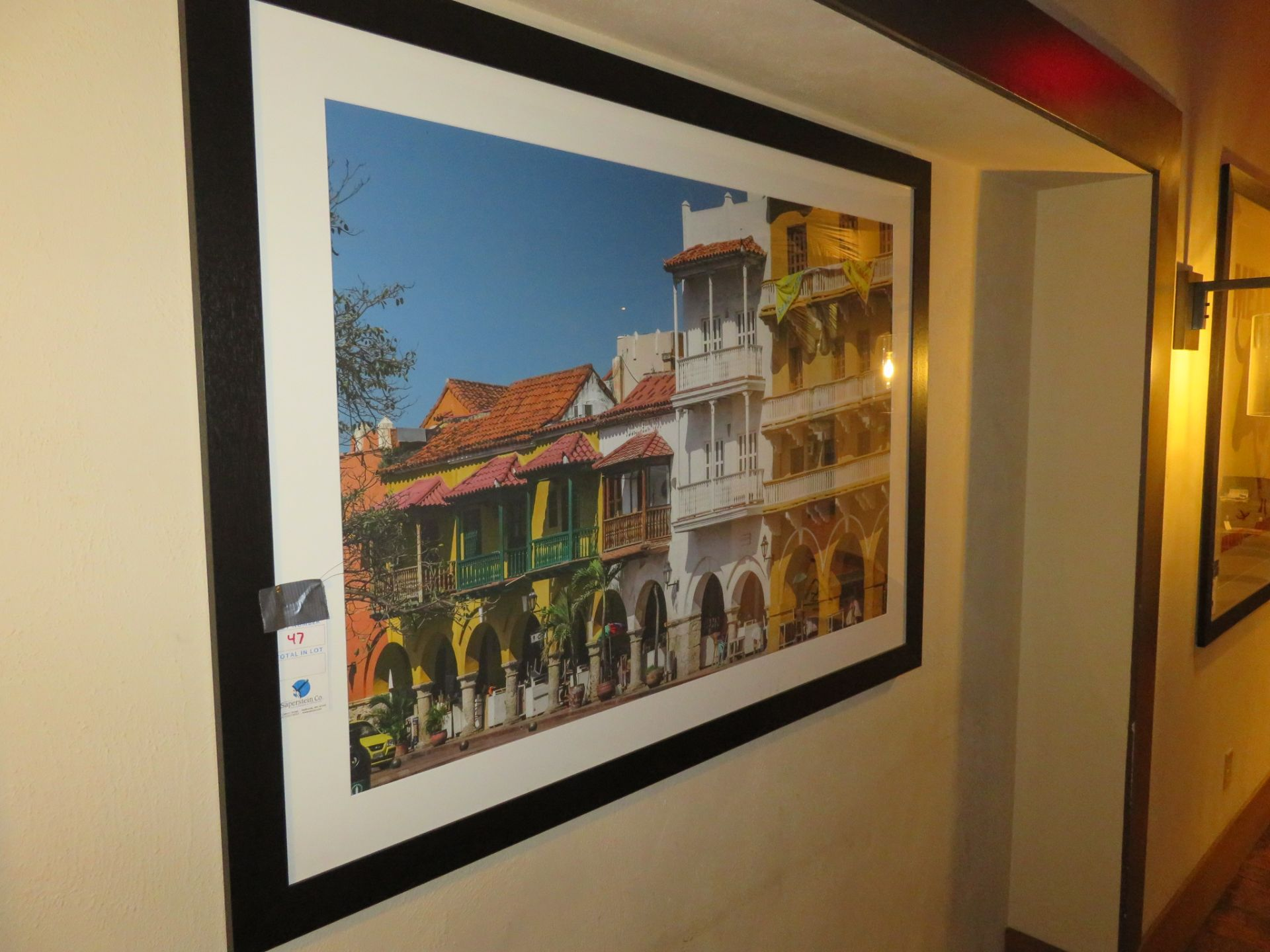 """Lot 47 - Approx. 56"""" X 40"""" Framed Pic"""