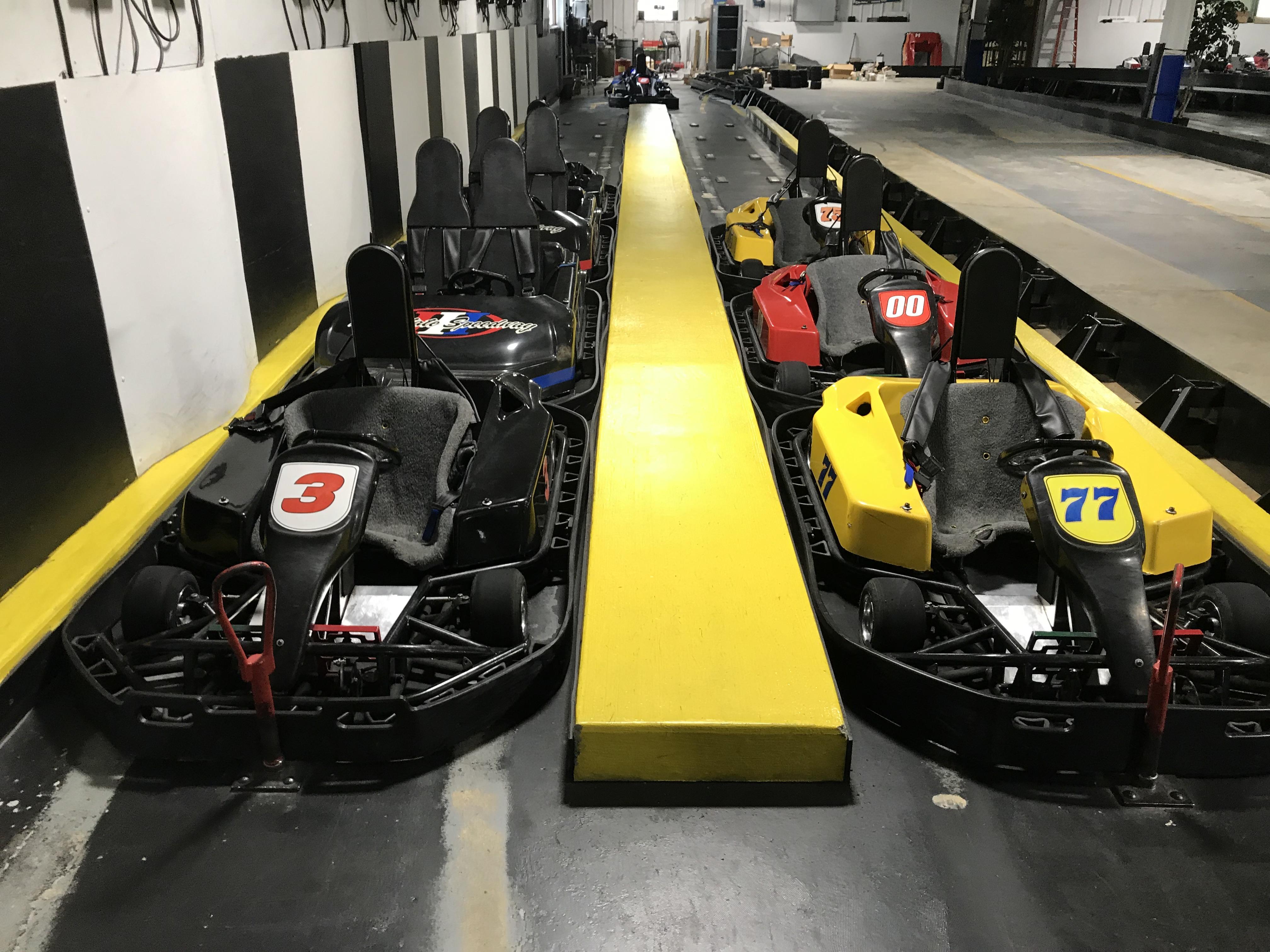 FULL AMUSEMENT & GO CART FACILITY - (50+) ARCADE GAMES – ROLLER SKATING PARK, (14) ELECTRA GO CARTS – (4) BUMPER CARS -