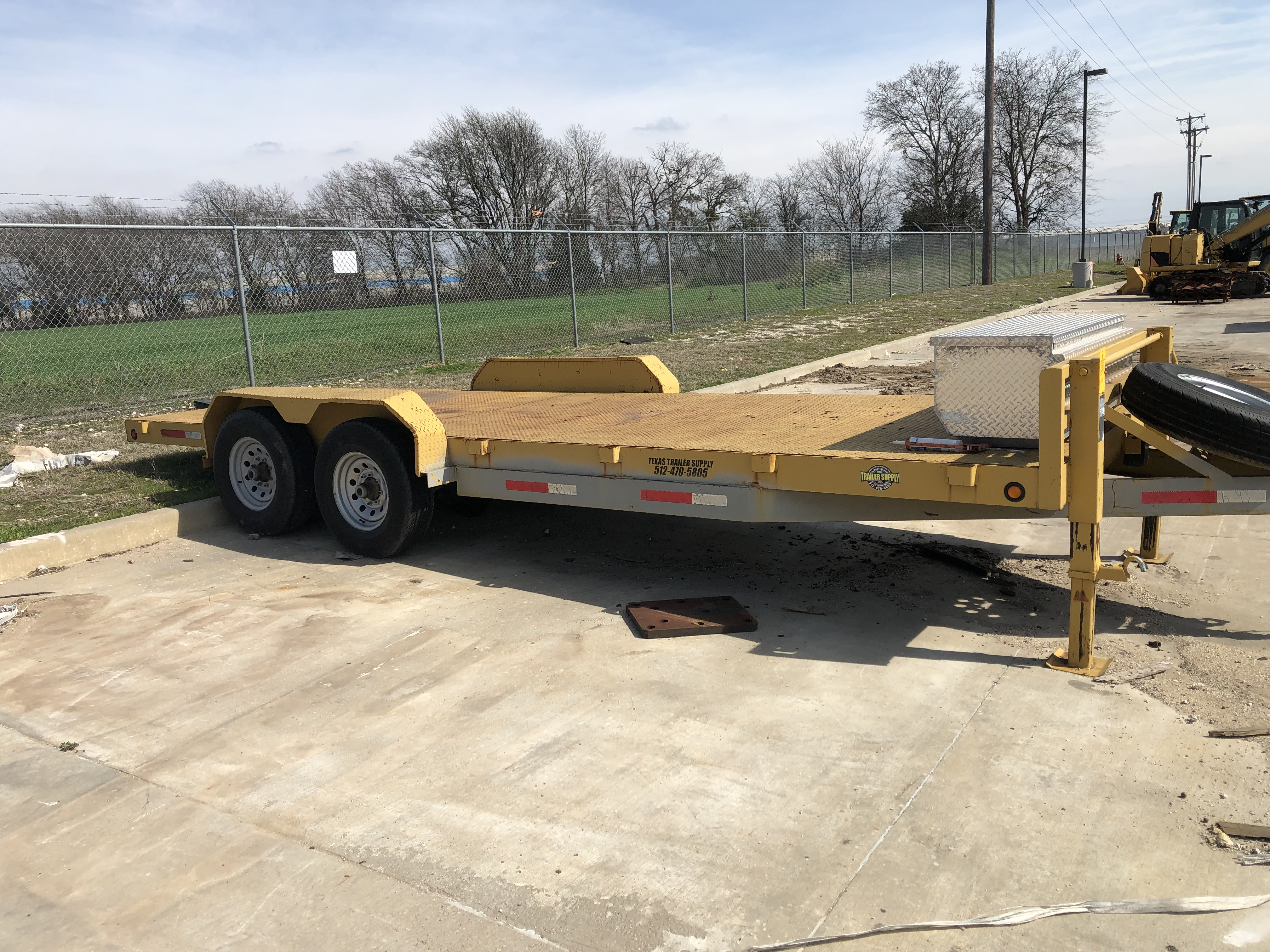 Assets Available Due to the Facility Closure of Caterpillar Waco, TX
