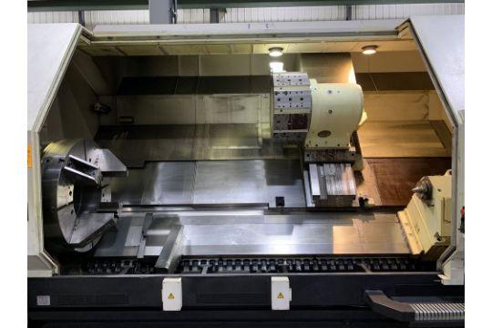 2011 Mazak ST80 CNC Lathe, s/n 228646, Mazatrol 640T CNC Control, 42