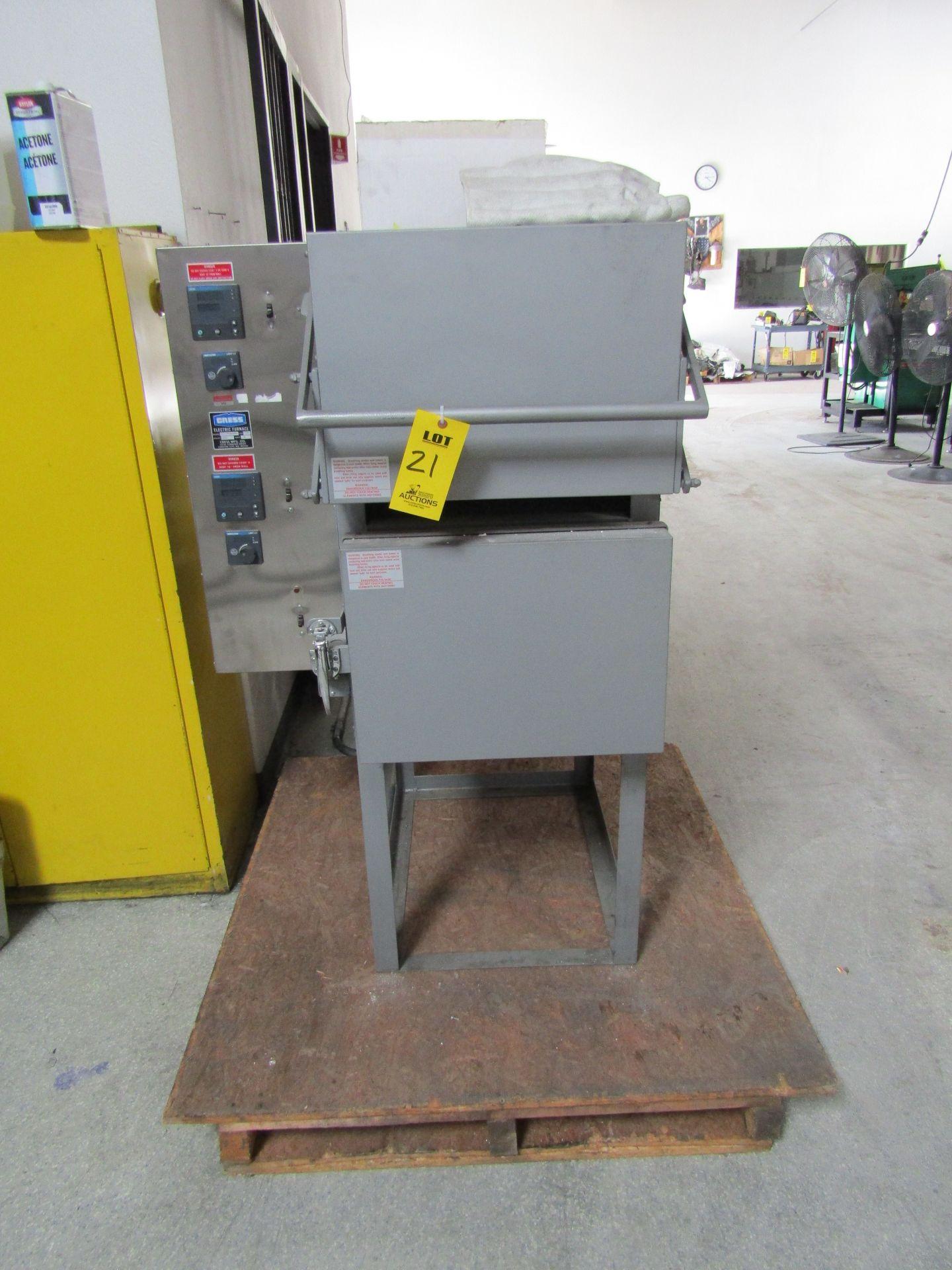 Lot 21 - CRESS Electric Furnace, Model C2121SDHCCU&L, Serial 1009