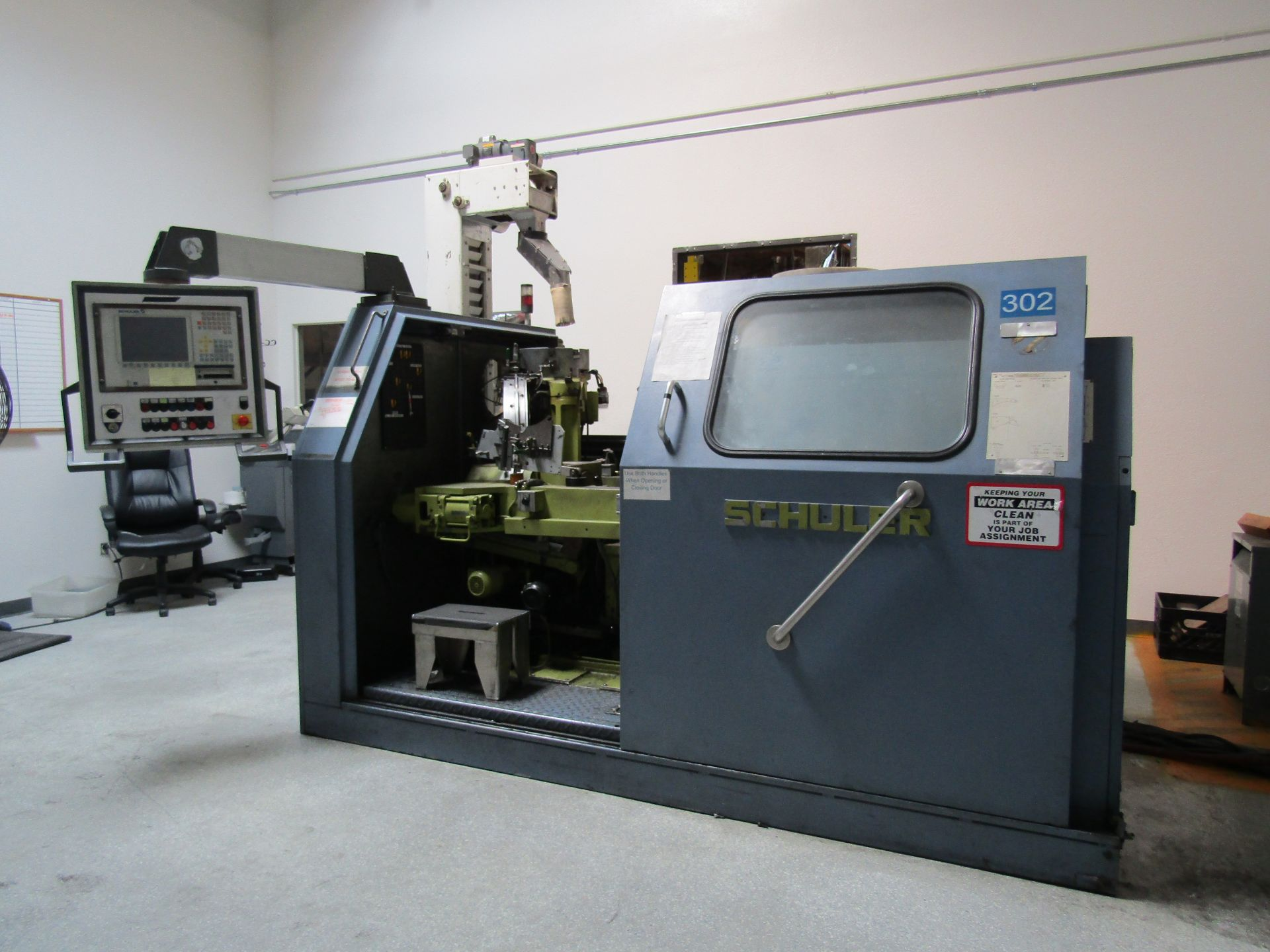 Lot 6 - 1997 SCHULER MRH150 Coining Press, S/N 97/20.2294, 460 V, 60 HZ, 3 PHASE, To Include Power Supply,