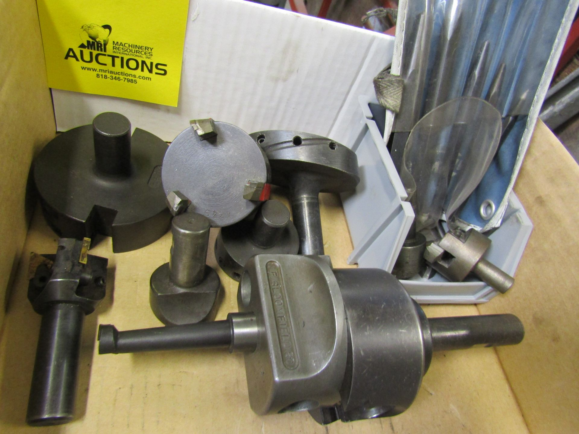 Lot 58 - Misc. Boring Heads and Fly Cutters