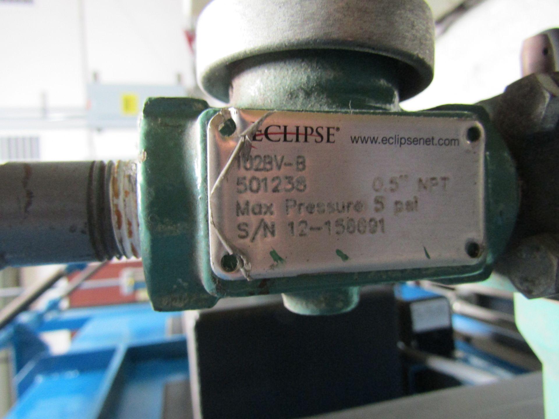 Lot 11 - BAKER BILLET FURNACE, Serial 333, 900,000 BTU, 460 V, 60 HZ with Manual