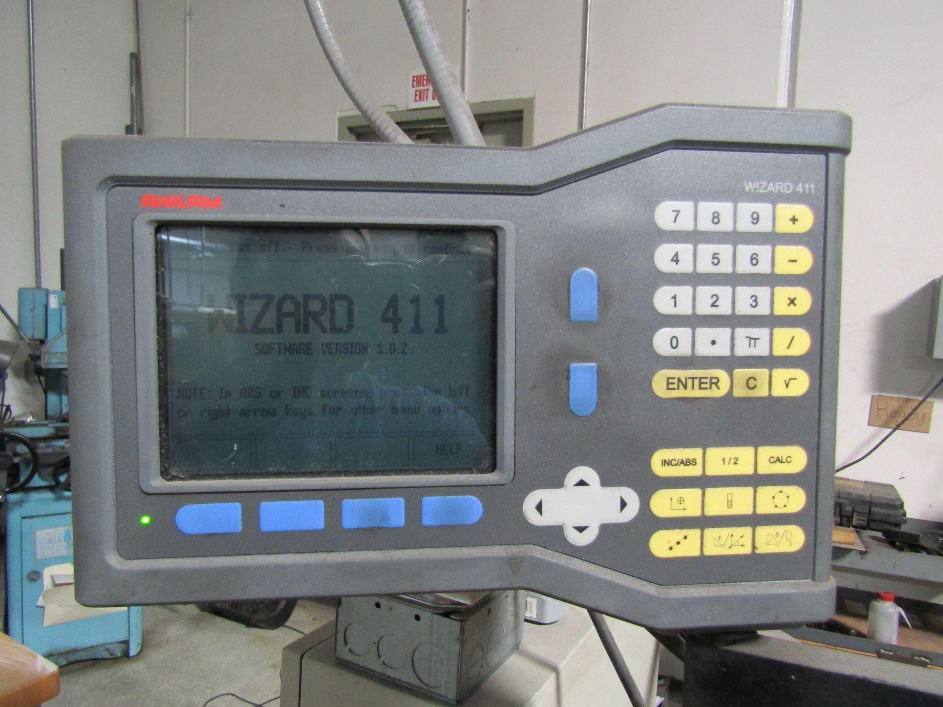 "Lot 3 - LEBLOND MAKINO REGAL Servo Shift 15"" Machine Lathe, S/N 15L-936 W/ Anilam Wizard 411 2 Axis"