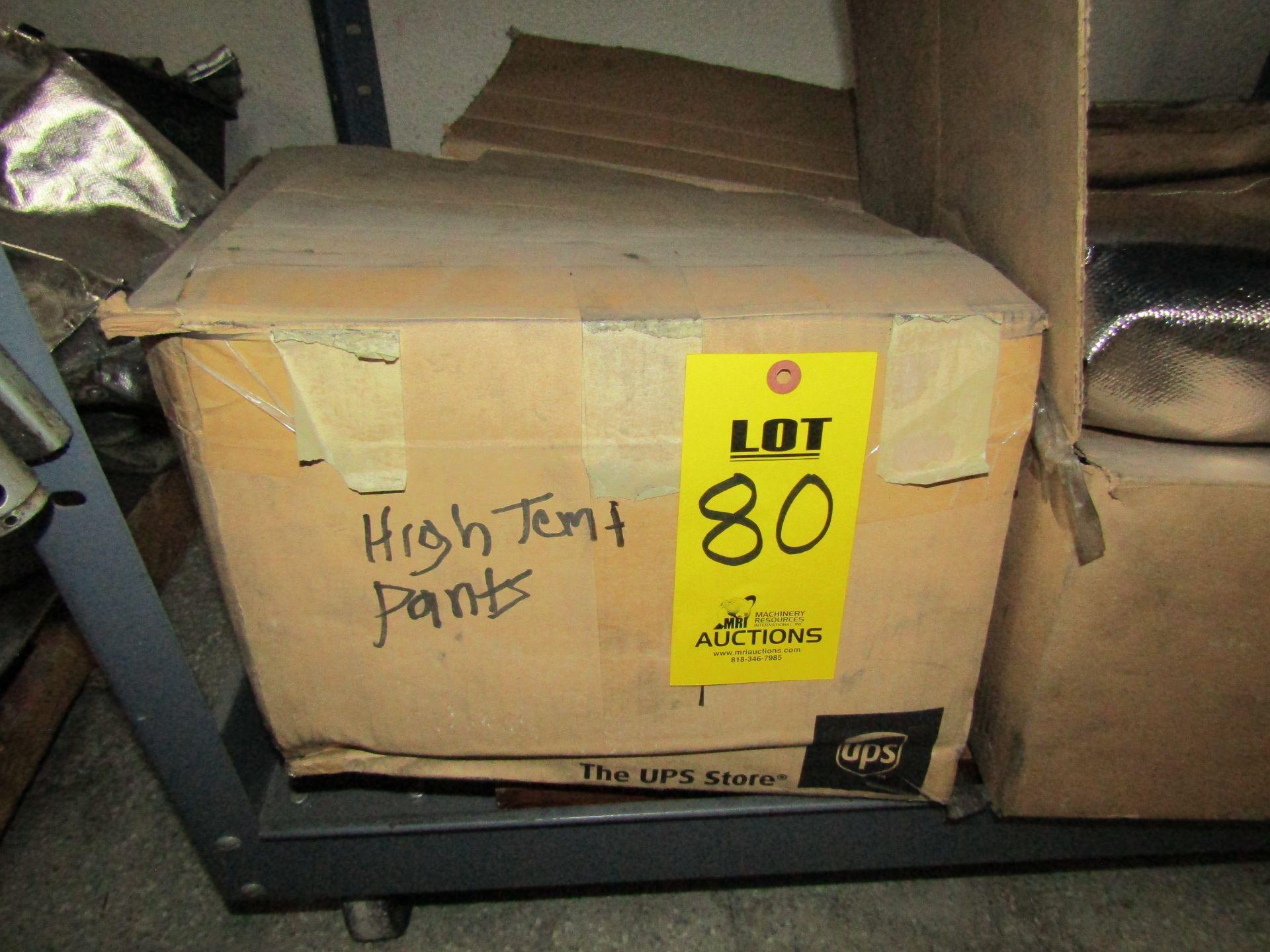 Lot 80 - Box of High Temperature Pants
