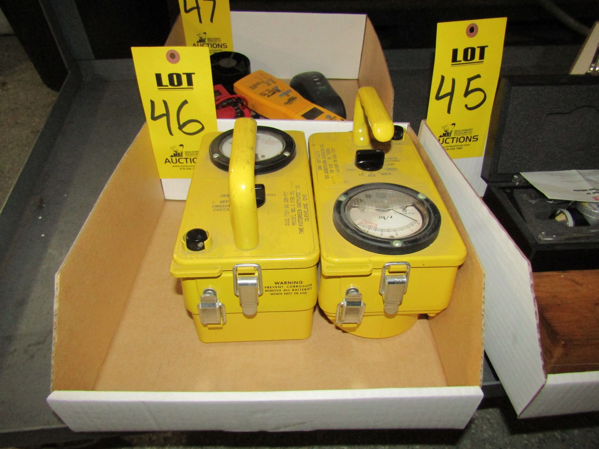 Lot 46 - (2) CD GEIGER Counters