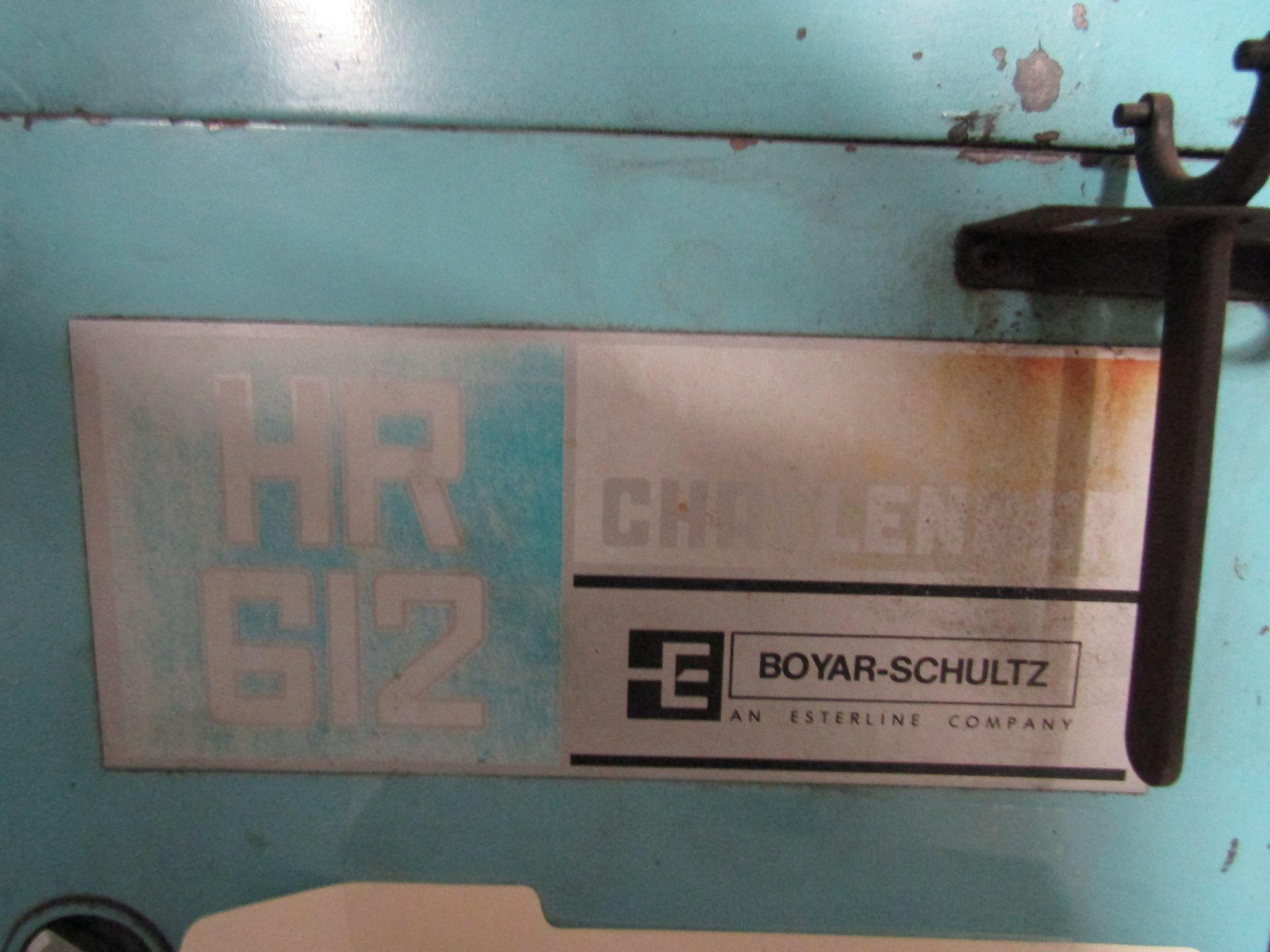 Lot 31 - BOYAR SCHULTZ HR612 Challenger Surface Grinder