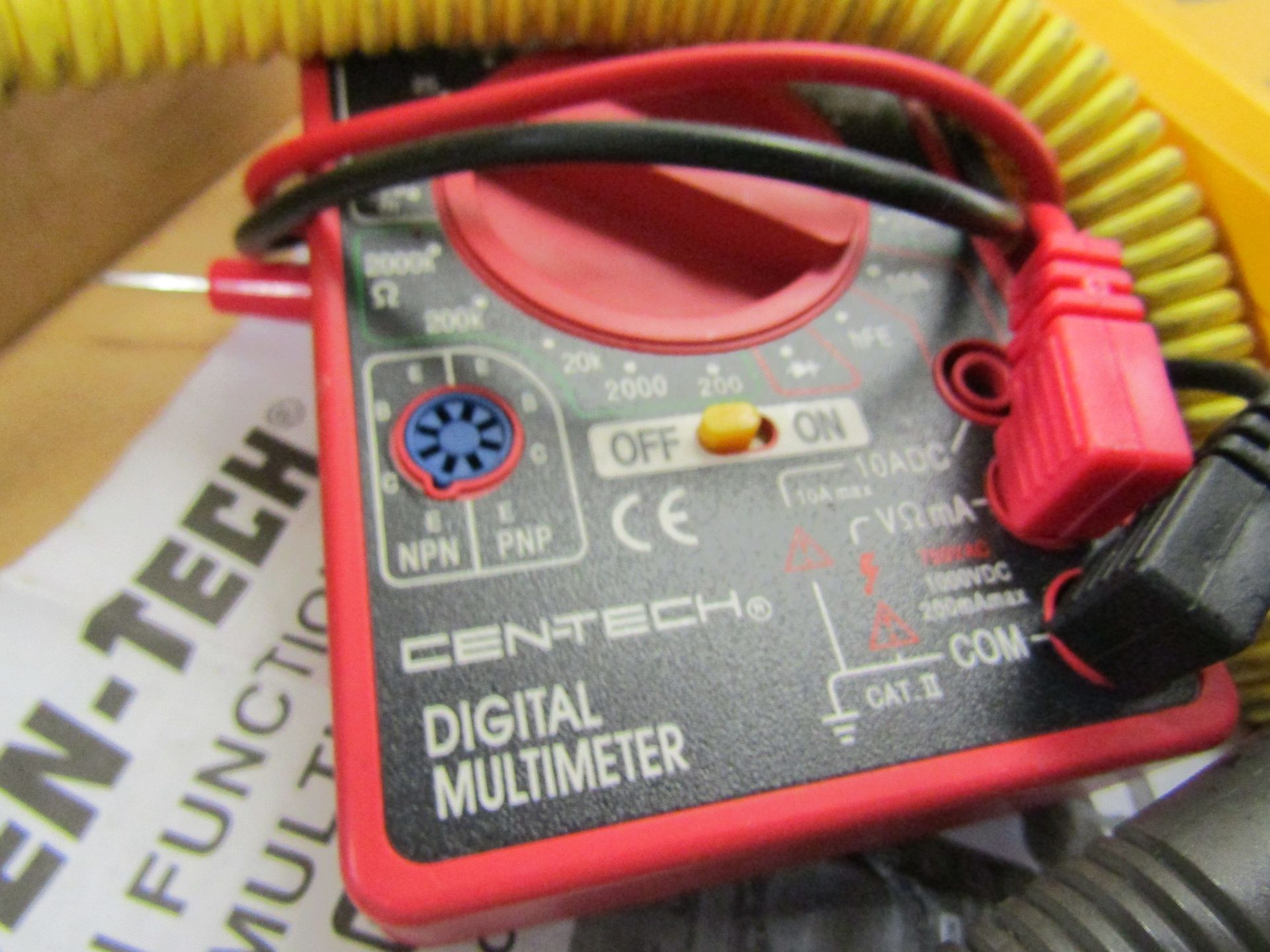Lot 47 - Lot to Include: Cen-Tech Digital Multimeter, (1) Fieldpiece AAV3 Air Velocity and Temperature