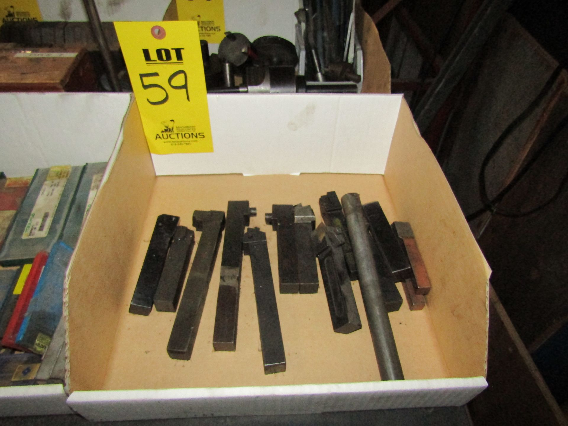 Lot 59 - Misc. Turning Tool Holders, Cutting Tools