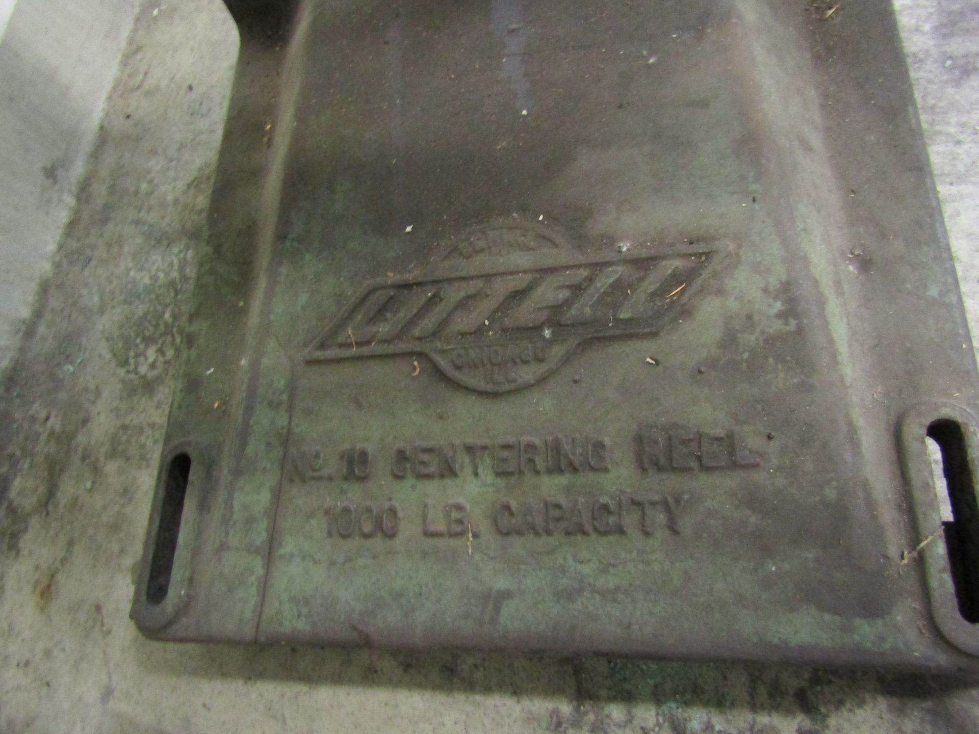 Lot 24 - LITTEL NO.10 Decoiler Reel, 1,000 LB Cap (For Blanking Press Strip Feed Line)