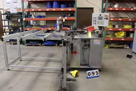 SEMI-AUTOMATIC SPIRAL WOUND GASKET MACHINE, EXA AWM03, new