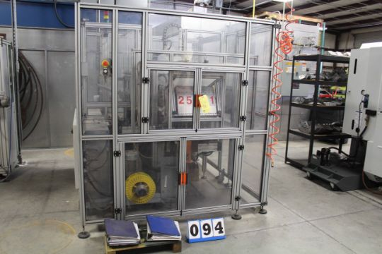 FULLY AUTOMATIC SPIRAL WOUND GASKET MACHINE, EXA AWM10, new