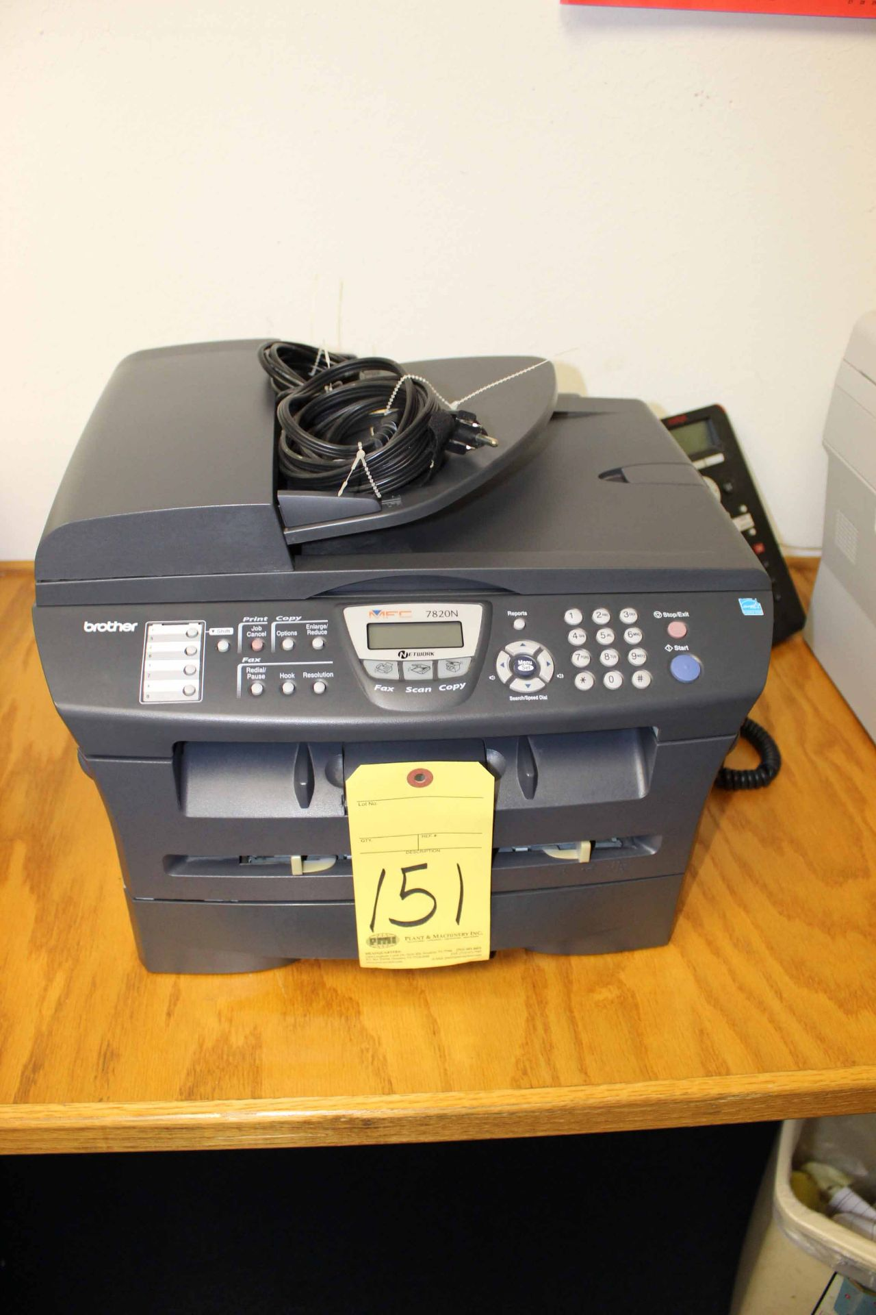 Lot 151 - FAX/SCAN/COPIER, BROTHER 4020N