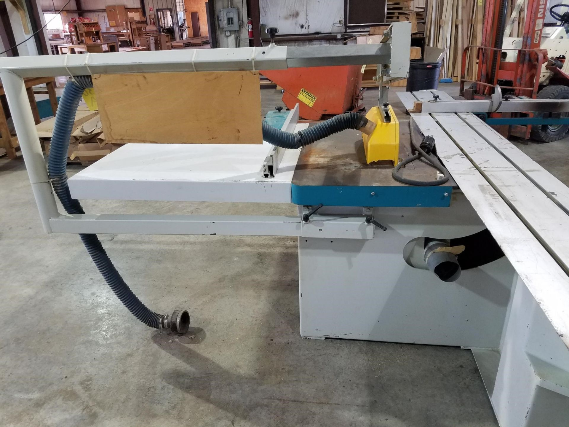 """Lot 130A - SLIDING TABLE PANEL SAW, GRIGGIO MDL. SC3200, new 2000, 10 HP motor, approx. 13"""" x 126"""" cutting"""