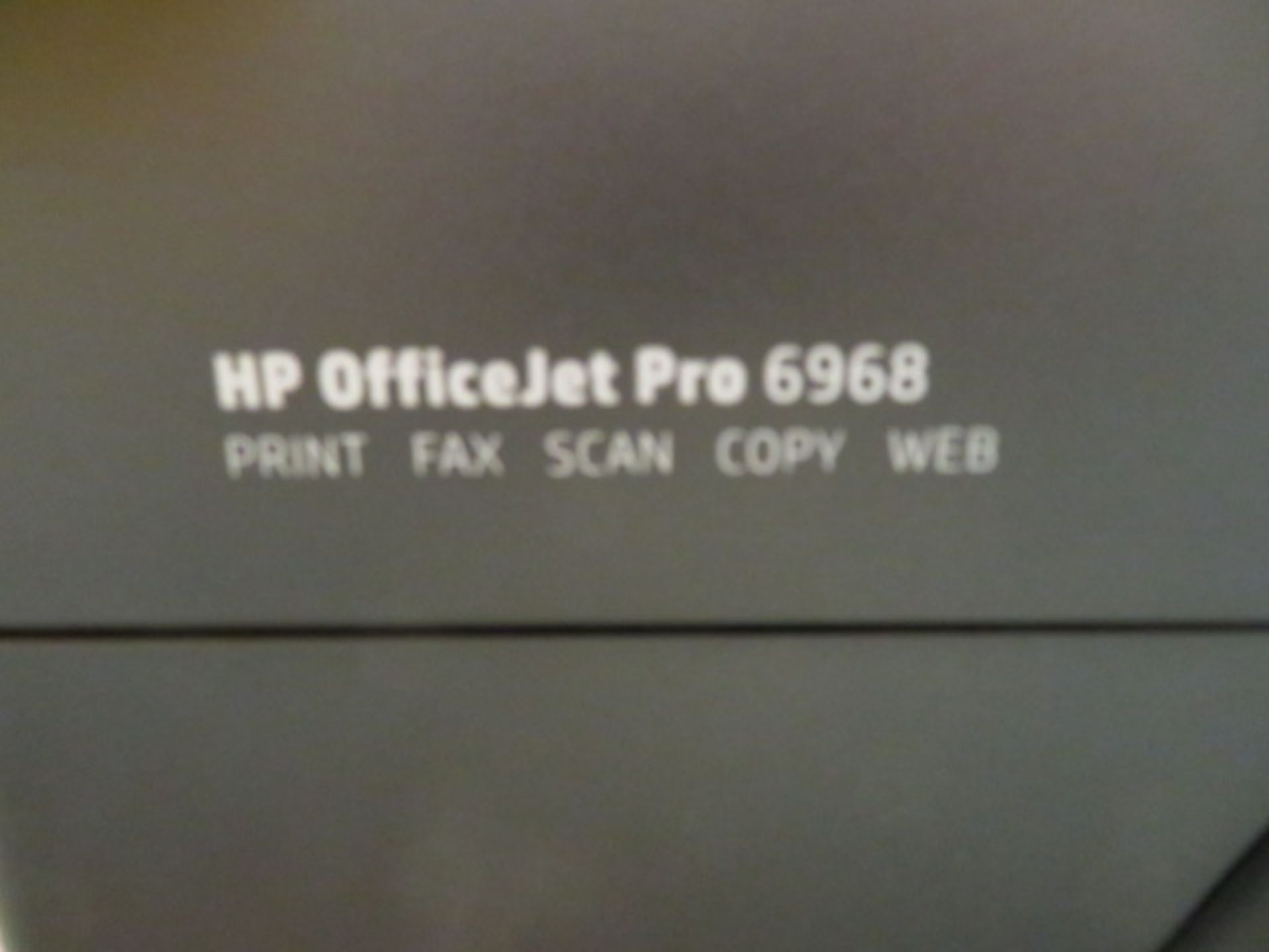 Lot 371 - PRINTER, HP OFFICE JET PRO 6968 (print, fax, scan, copy, web)