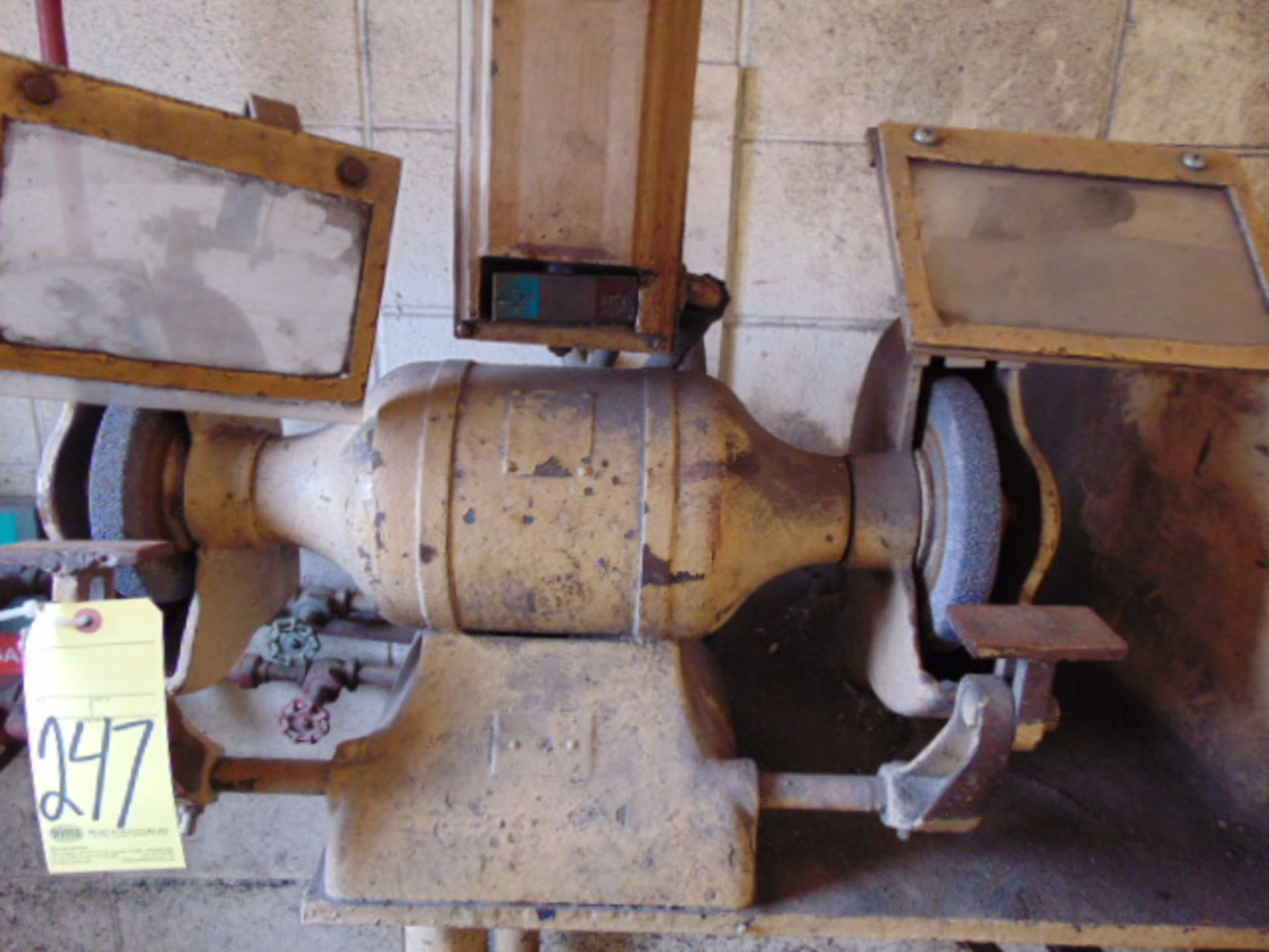 """Lot 247 - DOUBLE END BENCH GRINDER, 10"""""""