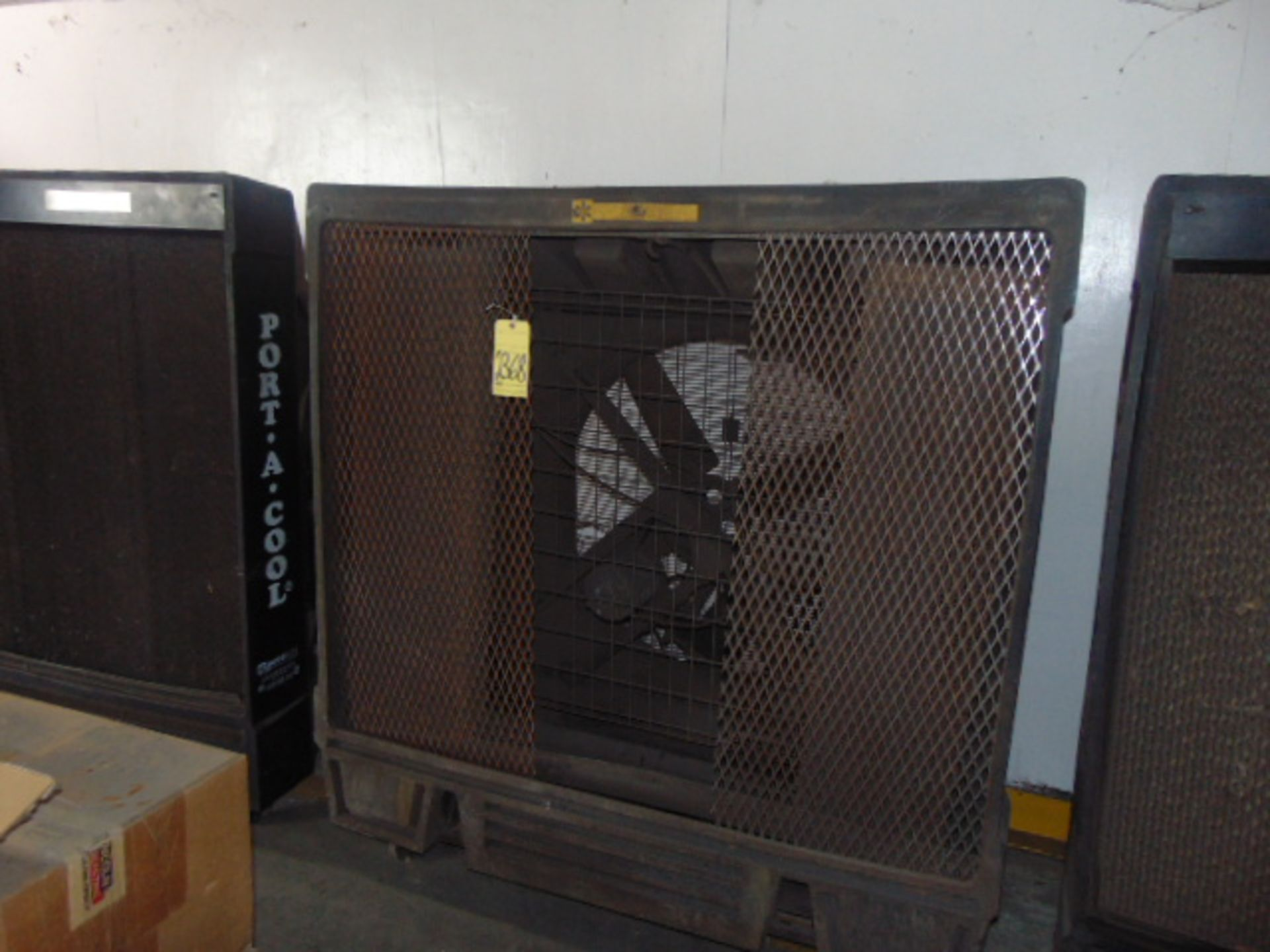 "Lot 2368 - PORTABLE EVAPORATIVE COOLER, PORTA-COOL 36"" MDL. PAC2K361S, 36"", sgl. spd."