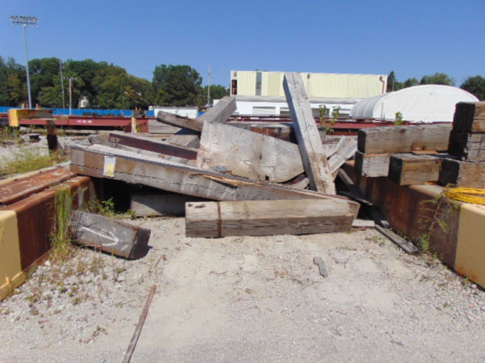 "Lot 3013 - LOT OF TIMBERS, 12"" X 12"", assorted"
