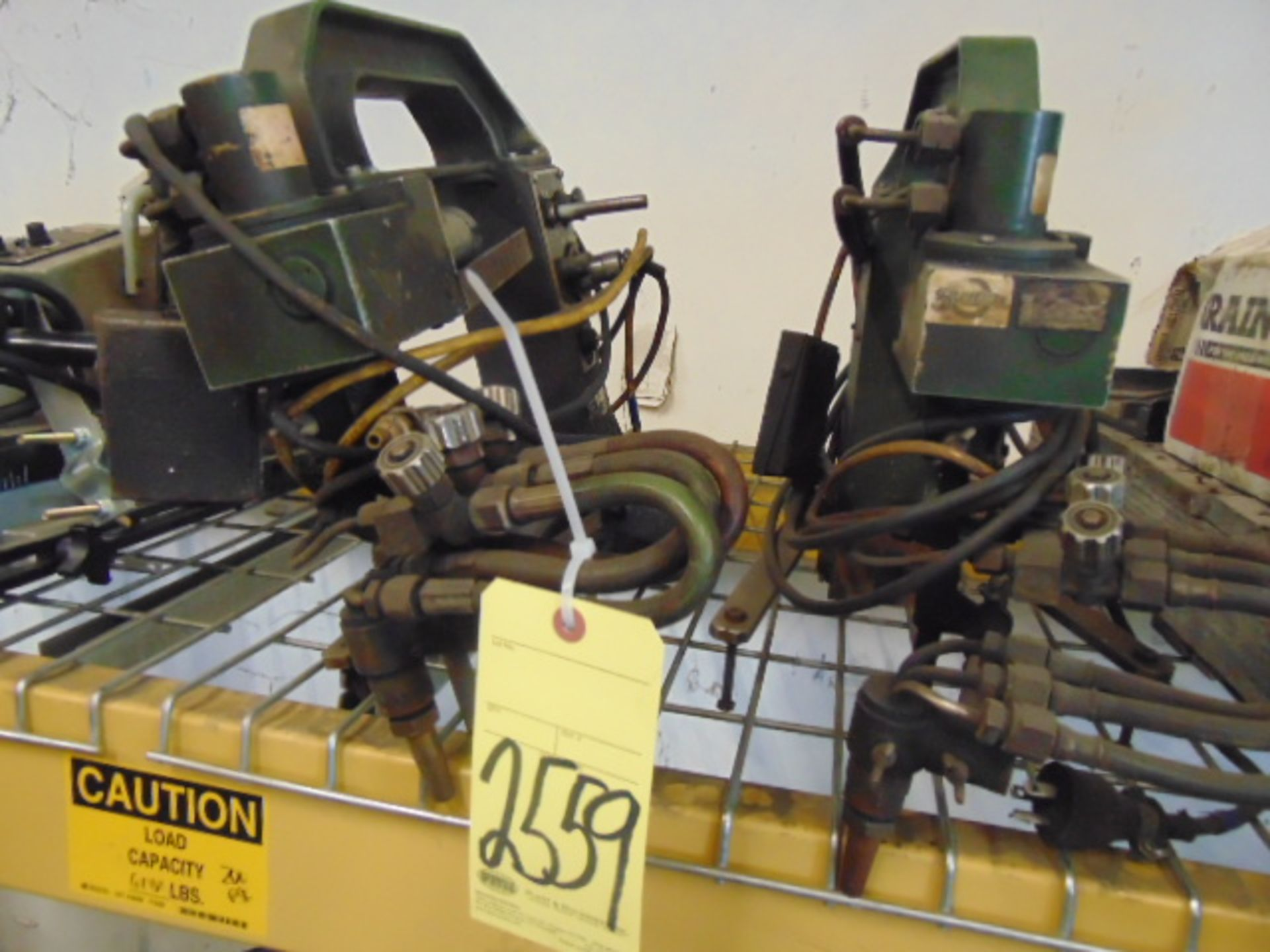 Lot 2559 - LOT OF TRACK TORCHES (2), KOIKE