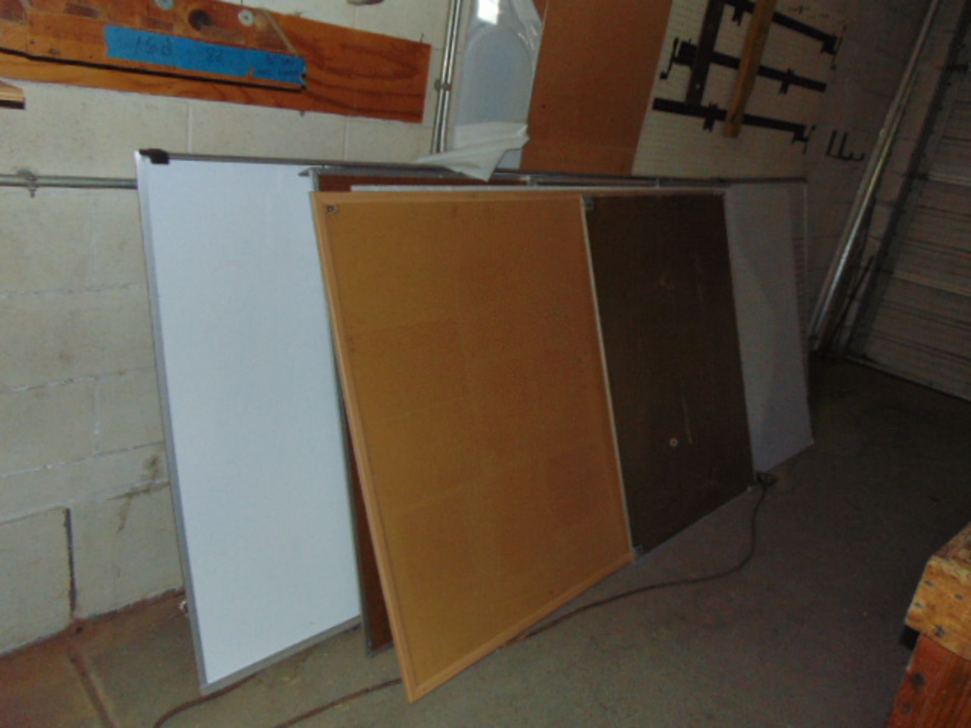 Lot 3028 - LOT CONSISTING OF: (4) cabinets, w/contents, assorted, table, coffee maker, microwave oven, white