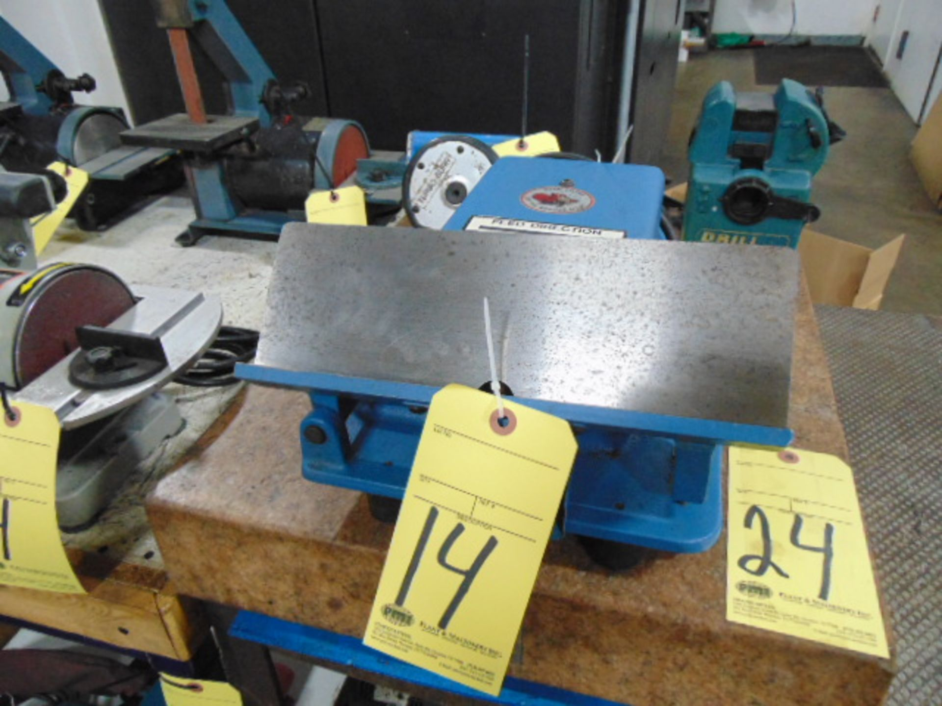 Lot 14 - DEBURRING & BEVELING MACHINE, SIMCO, BUR-BEAVER MDL. BB-920