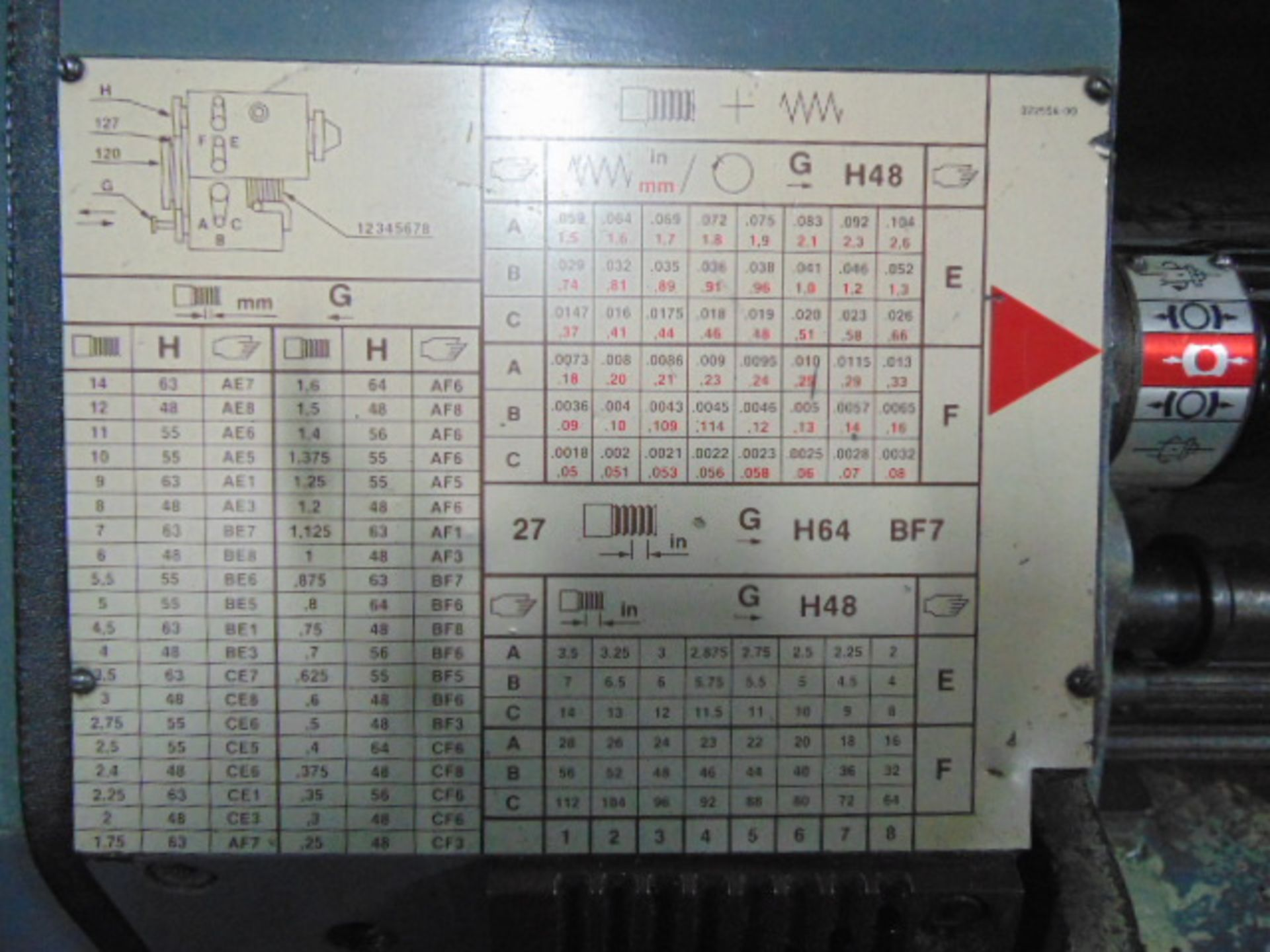 "Lot 40 - ENGINE LATHE, LEBLOND REGAL 19"" X 78"", servo shift headstock, spds: 40-1600 RPM, 3-1/8"" spdl."