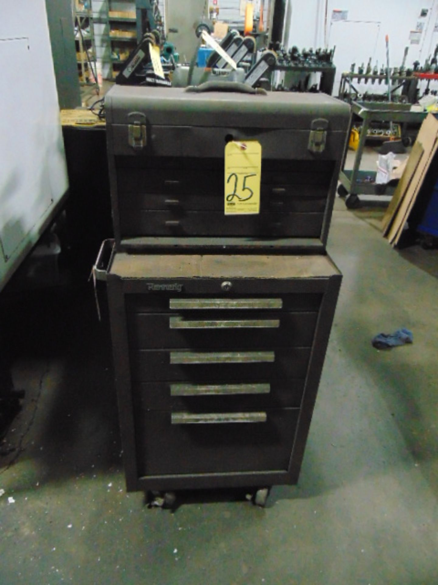 Lot 25 - TOOLBOX, KENNEDY, top & bottom