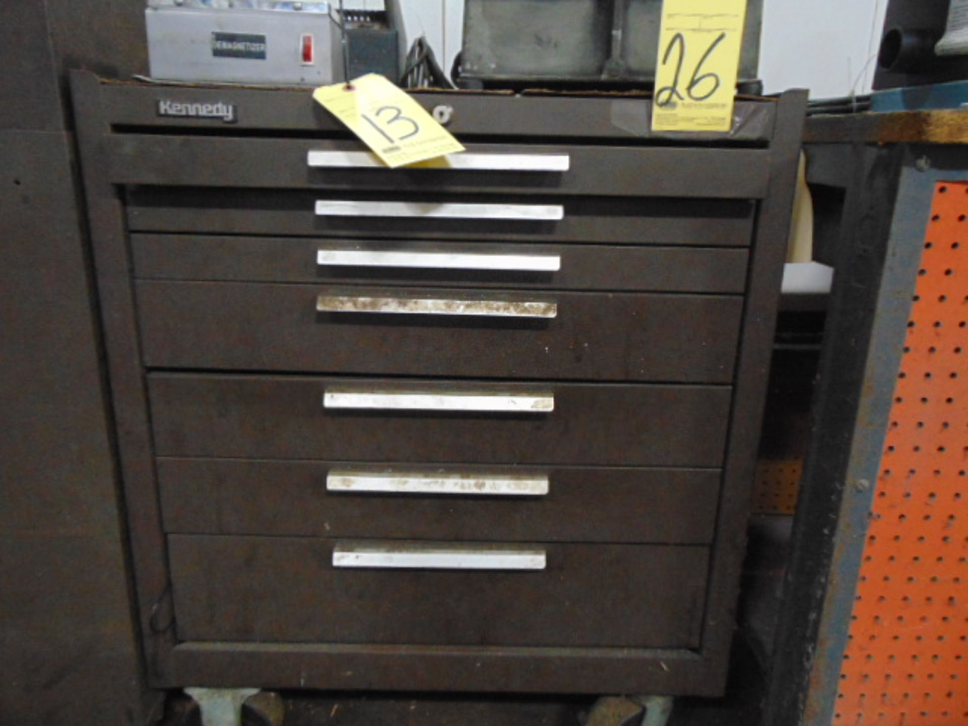 Lot 26 - TOOLBOX, KENNEDY, 7-drawer