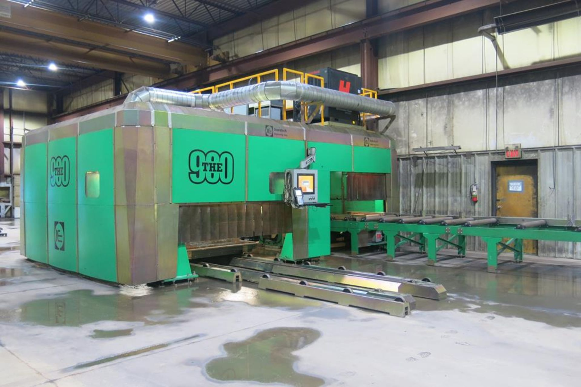 Lot 1 - 2015, INOVATECH ENGINEERING CORP., STEELPRO 900, CNC ROBOTIC PLASMA BEAM AND PLATE CUTTING LINE
