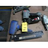 Lot 140 - LOT: (1) DuoFast Strip Nailer Model CN-350B, (1) Senco Coil Nailer
