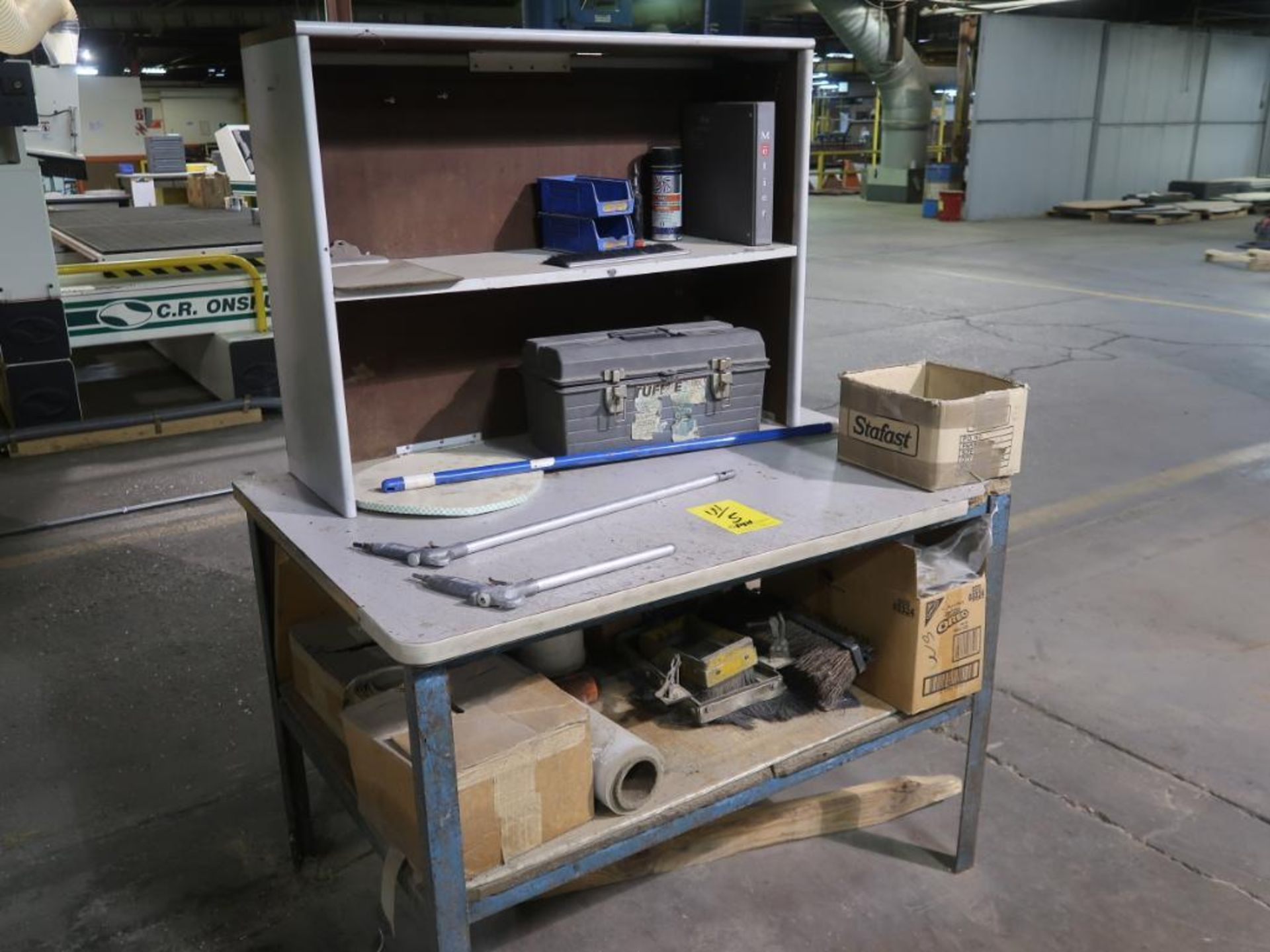 Lot 5 - Wadkin 4-Head CNC Router Model UX, S/N VX/F/LC91559, 52 in. x 108 in. Vacuum Table, 7.5 HP Twin