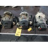 Lot 134 - LOT: (3) Porter Cable Routers
