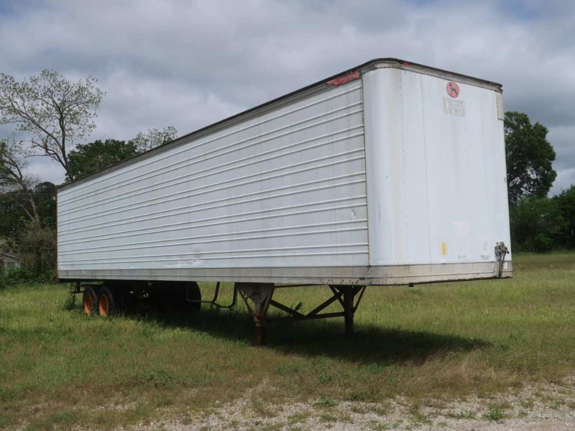 Lot 245 - 1989 Great Dane 48 ft. Sliding Tandem-Axle Box Trailer Model 7311T-48, VIN 1GRAA9629LS032622, Double