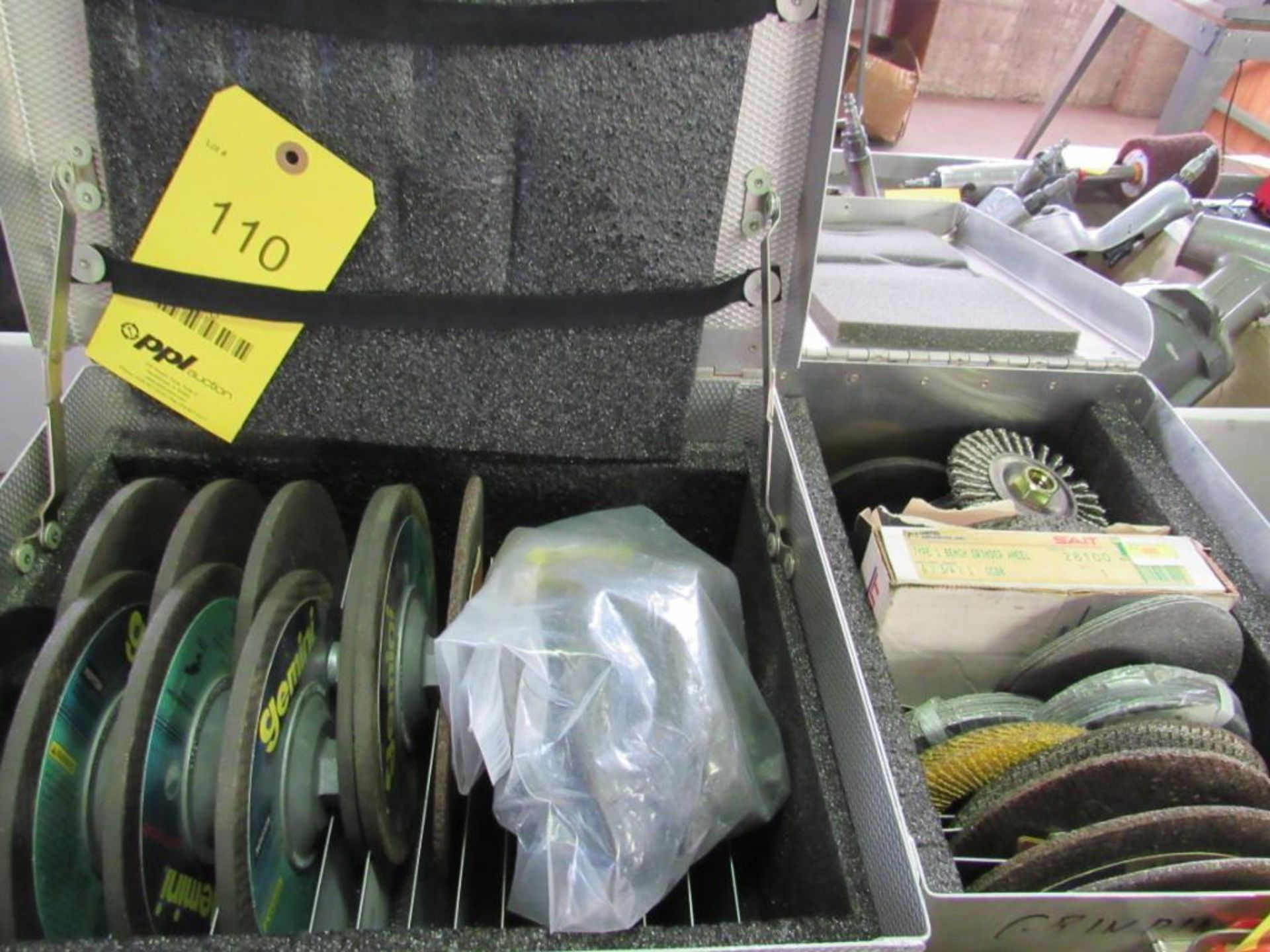 Lot 110 - LOT: Assorted Grinding Discs in (2) Boxes