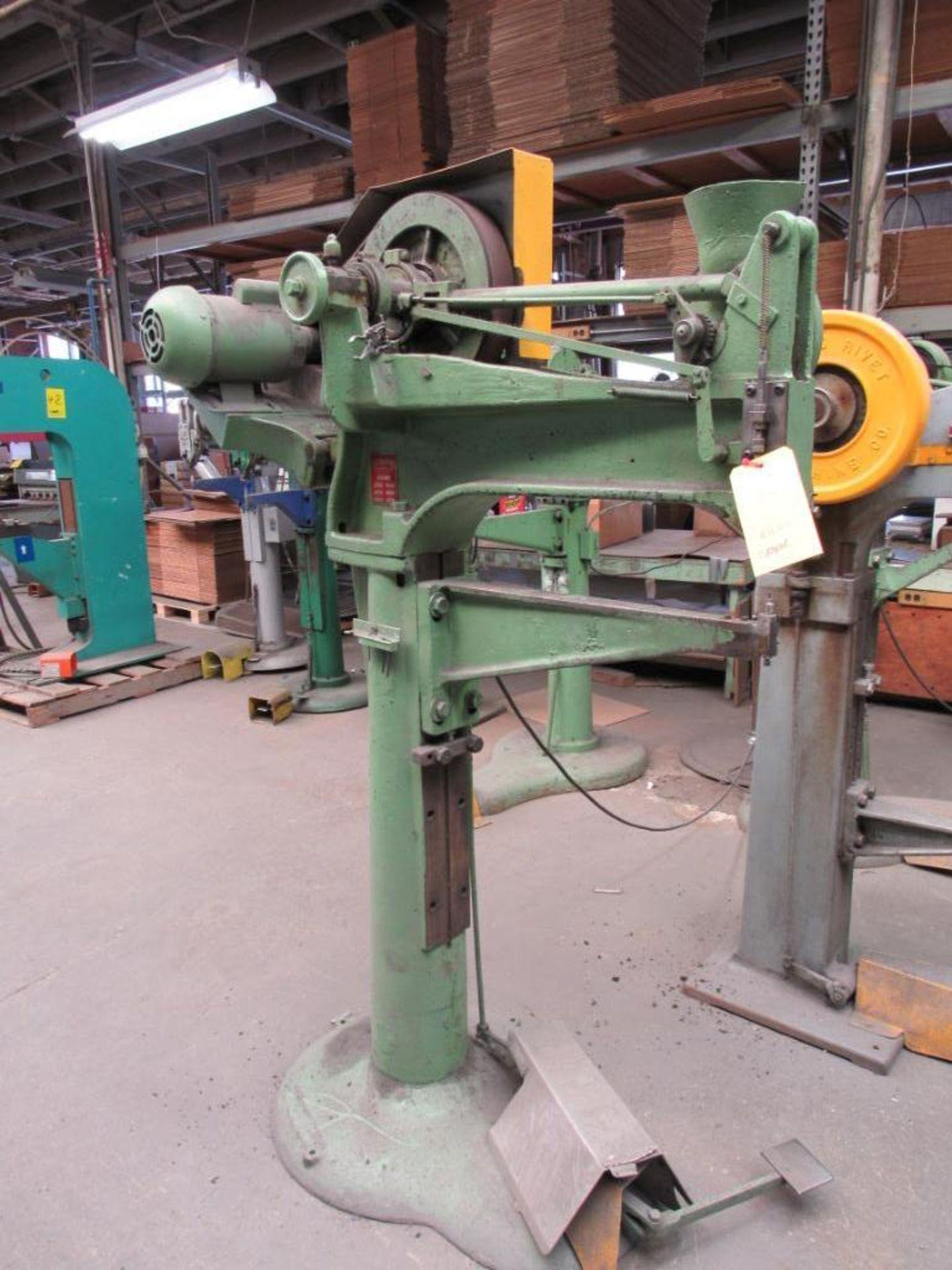 Lot 44 - Chicago Rivet & Machine Hopper Feed Riveter Model 14-478
