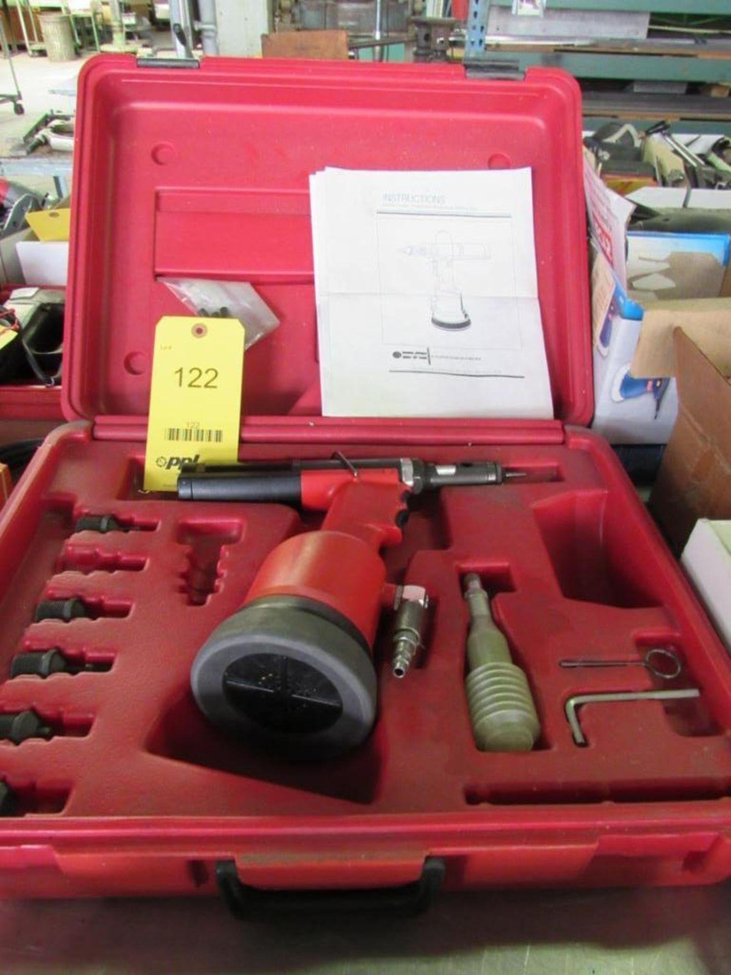 Lot 122 - Marson Pneumatic Rivet Nut Setting Tool Model 140SP, with Case