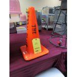 LOT: (40) Orange Traffic Cones