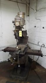 Lot 39 - BRIDGEPORT MILL S/N 12/BR144351, 1 1/2 HP