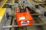 Lot 16 - CM Valuster 1 Ton Overhead Hoist with 12' beam, series 635